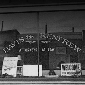 1939: Edward Davis and William Renfrew found their law firm Davis & Renfrew